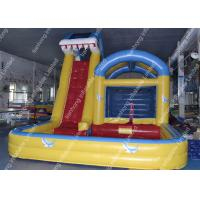 Wholesale Commercial Inflatable Adult Water Slides Customized With 0.55mm Pvc from china suppliers