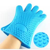Wholesale High Quality Kitchen Baking Glove Star Points Silicone Hot Pads Gloves from china suppliers