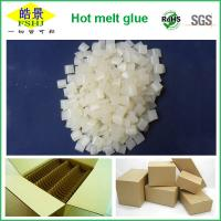 Quality Non Toxic Hot Melt Glue Pellets Granule For Box Packing Light Yellow for sale