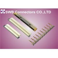 Wholesale Crimp Style Female LVDS Connectors , 14 Pin  Lvds 20 Pin Connector Straight Orientation from china suppliers