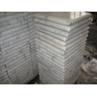 Wholesale Marble Wall Coping Guangxi White Marble Pier Cap China Carrara Marble Finials Column Top from china suppliers