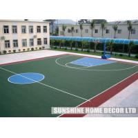 Wholesale PP Modular Futsal Court Flooring , Modular Table Tennis Sports Surface, Athletic Court Surface from china suppliers