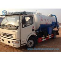 Wholesale Dongfeng Q235 Carbon Steel Tank Sewage Suction Tanker Truck 4X2 from china suppliers