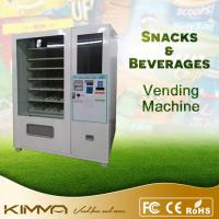 Buy cheap Fruit bar, frozen food, drinks combo vending machine with Nayax system from wholesalers