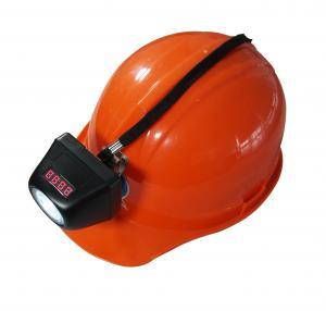 Wholesale Waterproof Industrial Lighting Fixture , Digital Mining Hard Hat Lights from china suppliers