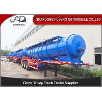 Wholesale 2 / 3 Axles sulfuric acid storage fuel tanker semi trailer with 20000 liters capacity from china suppliers