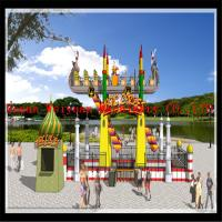 Wholesale fairground amusement ride hot sale Arab flying carpet rides from china suppliers