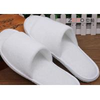 Wholesale Terry Material Hotel Disposable Slippers Washable Spa Slippers Customized Size from china suppliers