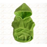 Wholesale XXX Small Breed Dog Clothes Green color Sports garment for pet warmly and safety from china suppliers