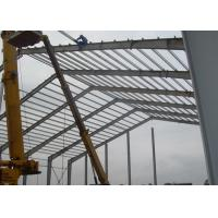 Wholesale Lightweight Industrial Steel Structures , Shock Resistant Steel Structure Fabrication With Space Frames from china suppliers