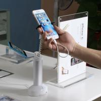 Wholesale COMER anti-thet system security display grip smartphone stand with cable concealed inside from china suppliers