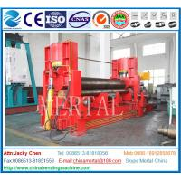 Wholesale with CE cert 3 roller mechanical metal sheet steel plate rolling machine from china suppliers