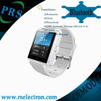 Wholesale hot sale buletooth smart watch for cellphone, bluetooth smart watch from china suppliers