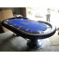 Wholesale Customized Colorful Marble Casino Poker Table with Colorful PU Bonding 120 kg from china suppliers