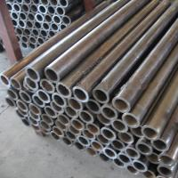 Wholesale Galvanized Hydraulic Cylinder Seamless Steel Pipe , St52.3 Round Cold Drawn Steel Tubes from china suppliers