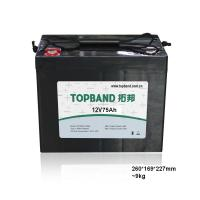Wholesale 12v 75ah Battery Lithium Iron Phosphate Batteries For Electric Vehicles from china suppliers
