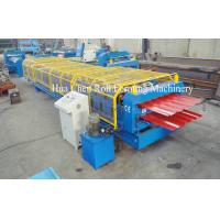 Wholesale Forming Speed 8-12m/min Double Layer Roof Forming Machine Shaft Diameter 76mm from china suppliers