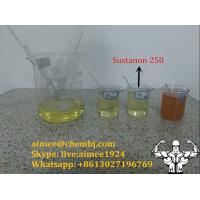 Wholesale Anabolic Steroids Testosterone Hormone Raw Testosterone Sustanon 250 for Muscle Building from china suppliers
