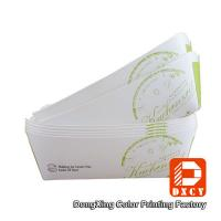 Wholesale Environmental Friendly Custom Fast Food Packaging , Varnished Chicken Wings Box from china suppliers