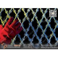 Wholesale 2.1m height Welded Ripper  Razor Mesh Fencing | 150X300mm rhombus Aperture | BTO-22 from china suppliers