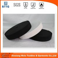 Wholesale YSETEX 100% Nylon anti fire black Hook and Loop for FR coverall from china suppliers