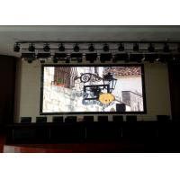 Buy cheap Video Wall Solution Audio Visual Rental Led Display ,2.6 mm SMD LED Screen For Rent from wholesalers