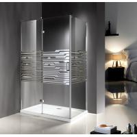 Wholesale Modern Enclosed Glass 1200 X 800 Shower Enclosures With 5Cm ABS Tray from china suppliers