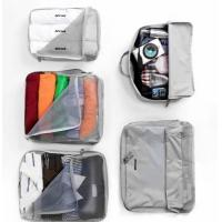 Wholesale V-Share Bag in bag 5 pieces set travel packing cube in Grey from china suppliers