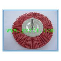 Wholesale Shaft-mounted abrasive wheel brushes from china suppliers