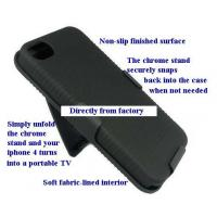 Wholesale Non-slip Premium Quality Rubberized Hard Cover Holder for iPhone 4 4S from china suppliers