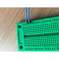 Wholesale 700 Tie-points Green Solderless Circuit Board , Prototyping Universal Printed Circuit Board from china suppliers