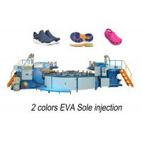 Wholesale EVA shoe injection molding machine, Injection molding machine for 2 colors EVA Shoe from china suppliers