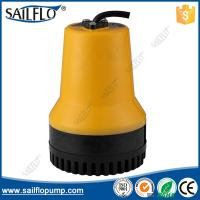Sailflo yellow color 12V boat submersible bilge pump for marine/boat