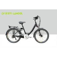 Wholesale 36 Volt 10.4Ah Electric City Bike 250W Gear Motor With Tektro Hydraulic Disc Brake from china suppliers