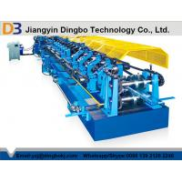 Wholesale Color Steel Tile Pre - Cutting Purlin Machine With Worm Gear Box Transmission from china suppliers
