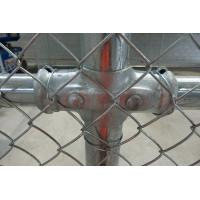 Wholesale Galvanized/PVC coated chain link fence( diamond wire mesh) from china suppliers