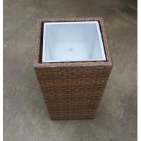 Wholesale Hand-Woven Wicker Flower Pot For Outdoor Garden / Greenhouse / Bar from china suppliers