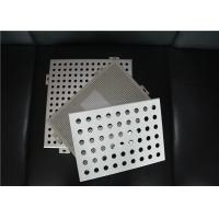 Wholesale Perforated Metal Ceiling Tiles Perforated Aluminum Panels Square / Rectangle from china suppliers