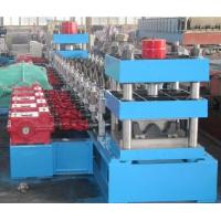 Wholesale Galvanized Steel Three Waves Motorway Guard Rail Roll Forming Equipment with Gearbox Driving from china suppliers