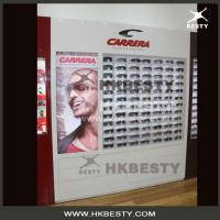 Wholesale Sunglasses boutique store slat wall cabinet and counter displays from china suppliers