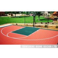 Wholesale PP Synthetic Colorful Interlocking Tennis Court Flooring Surface from china suppliers