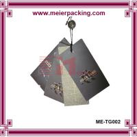 Wholesale Luxury Clothing Hang Tag, Black Paper Hang Tag with UV finished ME-TG002 from china suppliers