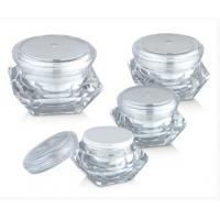 Wholesale 15g 30g 50g Crystal Diamond Transparent Acrylic Bottles Cream Jars from china suppliers