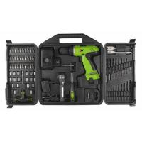 Wholesale 78 Piece Combo 18V DIY Cordless Drill Sets with Blow Plastic Carrier / Drills Bits / Sockets from china suppliers