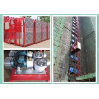 Quality High Safety Personnel And Materials Hoist Lifting Equipment For Construction for sale