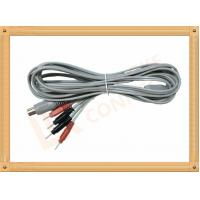 Wholesale Din 5 Pin to 2.0 tens unit wires 4 Pin Y Type Medial Tens EMS Cable Lead Wire from china suppliers