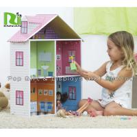 Wholesale Recycle Paper Printing Kids Corrugated Cardboard Toys Paper Toy House from china suppliers
