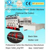 Wholesale Corrugated Cardboard Flexo Printer Slotter Machine with 3000mm Inboard Width from china suppliers