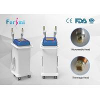 Wholesale Two kinds of head for RF output fractional rf microneedle machine radio frequency facial treatment benefits from china suppliers