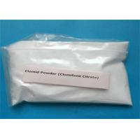 Wholesale Anti Estrogen Steroid Powder Clomifene Citrate Clomid CAS 50-41-9 for Fat Loss from china suppliers